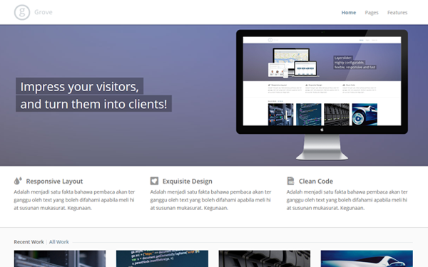 DOWNLOAD - Grove - Responsive Business Theme