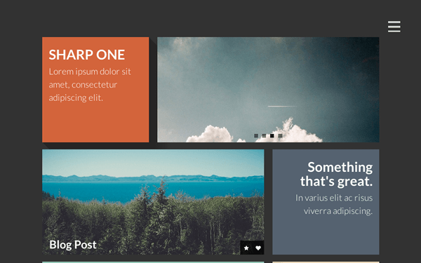 Sharp One ~ Responsive One Page Template - Live Preview - WrapBootstrap