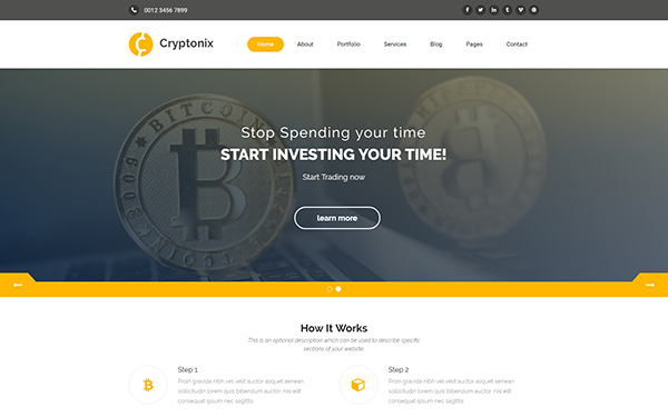 [DOWNLOAD] - Cryptonix - Cryptocurrency Template