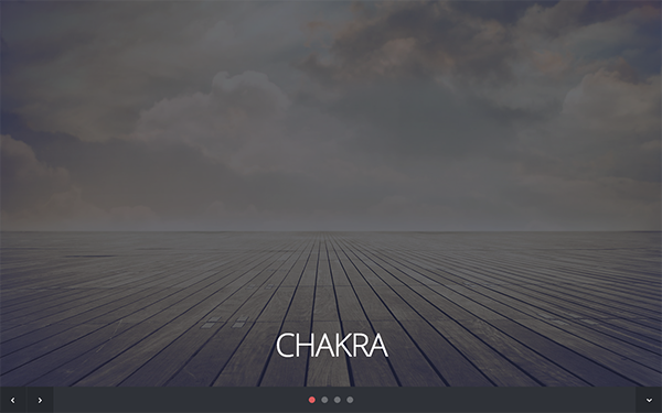 Chakra - Responsive One Page Template