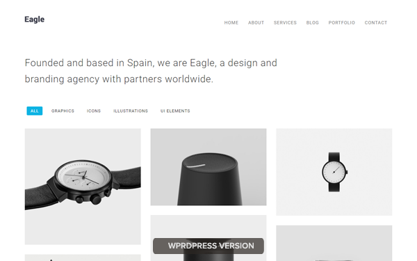 DOWNLOAD - Eagle - Minimal WordPress Theme