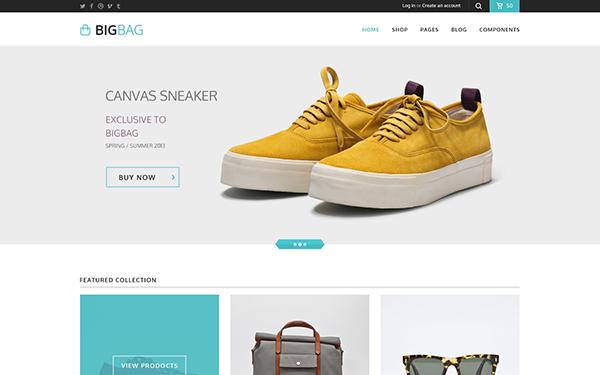 E-Commerce Templates | WrapBootstrap