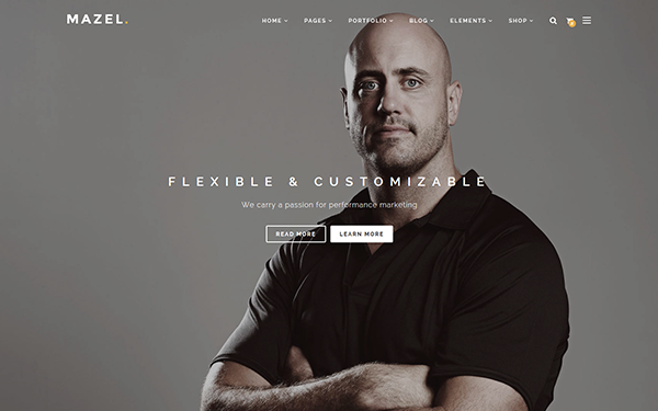 Mazel - Responsive Multipurpose Template - Live Preview - WrapBootstrap