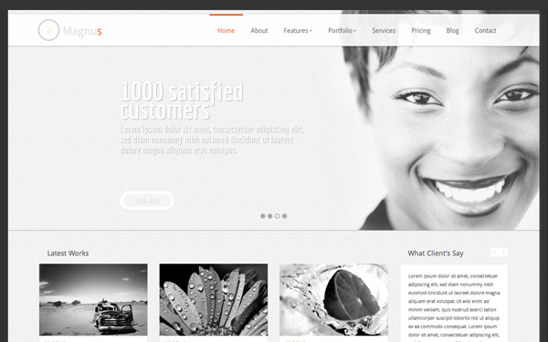 Magnus Responsive Business Template