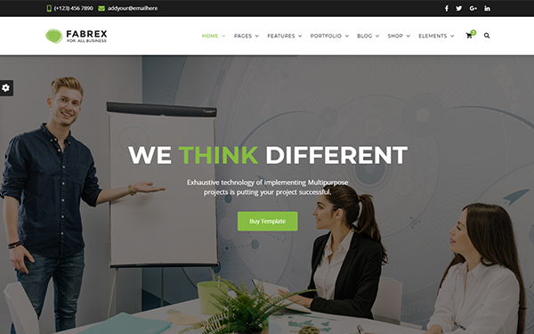 [DOWNLOAD] - Fabrex - Business and Corporate Template