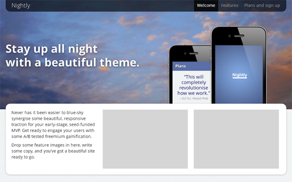 Nightly - Live Preview - WrapBootstrap