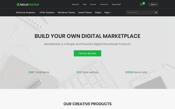 [DOWNLOAD] - MotuMarket - Digital Marketplace