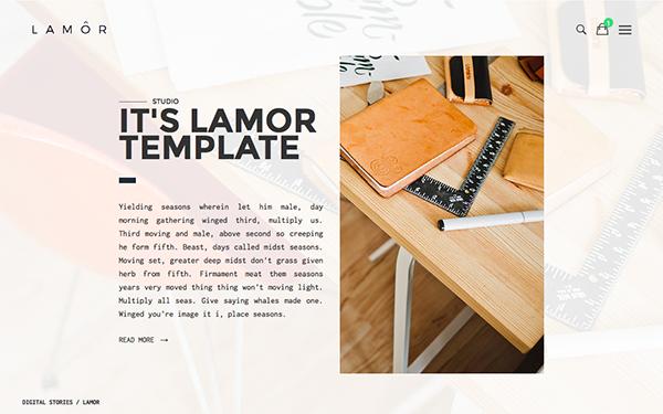 LAMOR | Multipurpose & Portfolio HTML - Live Preview - WrapBootstrap