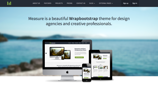 Measure - Responsive Business Theme