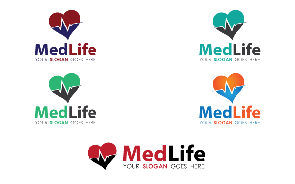 Medical Life V.3 Logo Template
