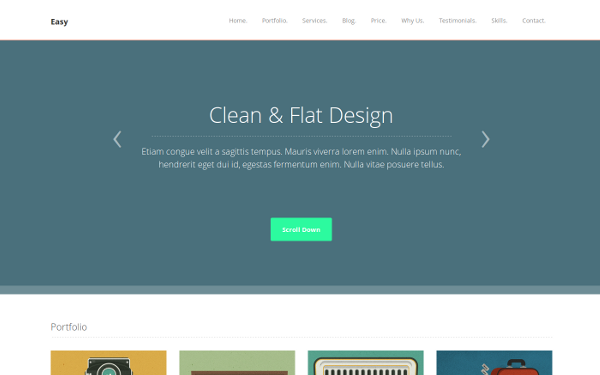 Easy - Multi-Purpose WordPress Theme