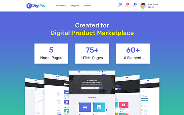 DOWNLOAD - DigiPro - Digital Products Marketplace