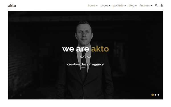 Akto - Multipurpose Website Template