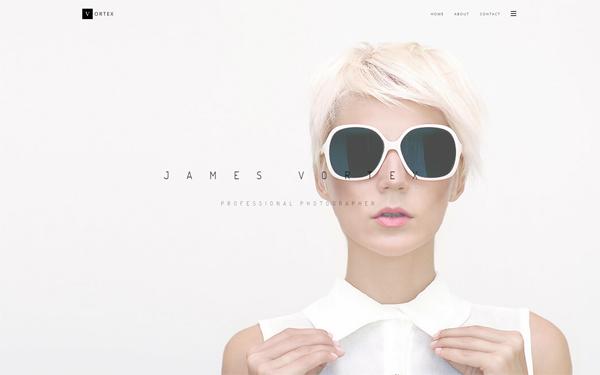 Vortex - Responsive HTML5 Portfolio - Live Preview - WrapBootstrap