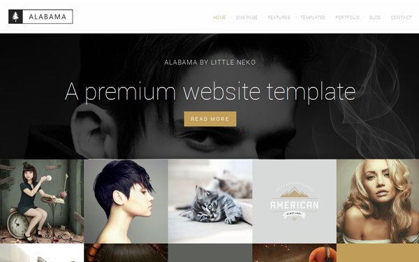 Alabama - Modern Multipurpose Template