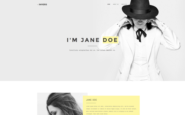 DOWNLOAD - Invers - Personal Portfolio/Resume