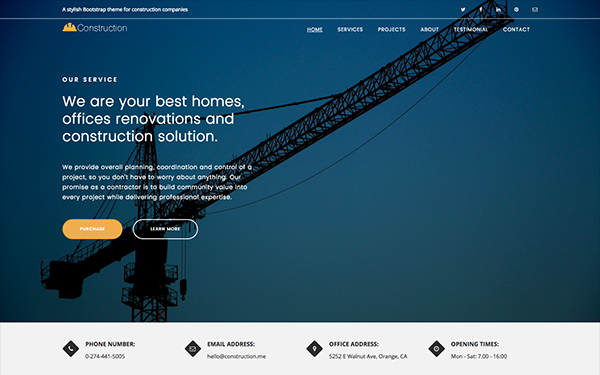 Construction - For Building Company
