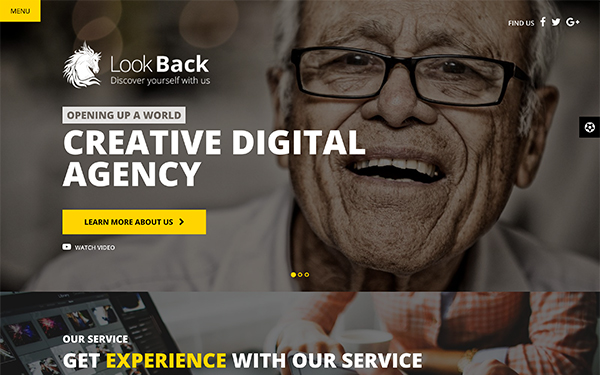 LookBack - Creative Agency Template