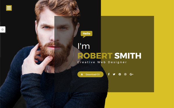 Robert - Portfolio & Resume Template