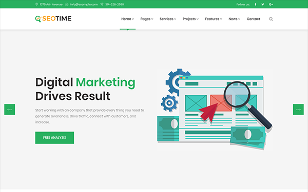 DOWNLOAD - SeoTime - Digital Marketing Template