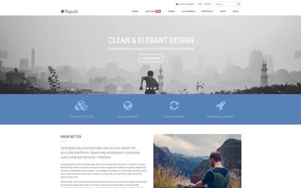 Repute - Responsive Multipurpose Theme