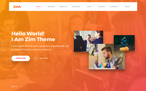 DOWNLOAD - Zim - Multi-Purpose HTML Template