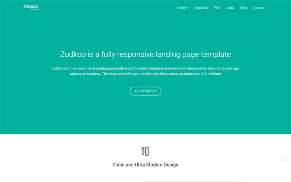 DOWNLOAD - Zodkoo - Responsive WordPress Theme