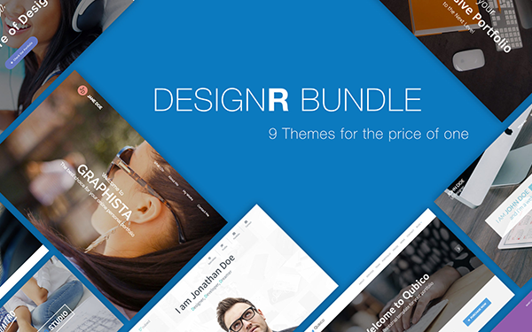 DesignR Bundle - 9 Themes in 1 - Live Preview - WrapBootstrap