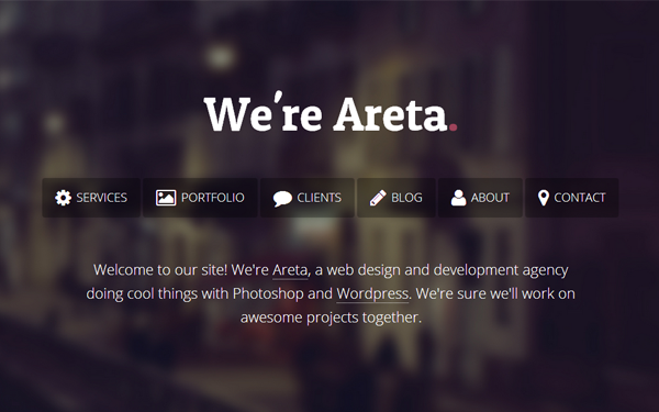 Full Site Templates - Areta - <p>Agency Portfolio Template </p>