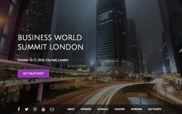 [DOWNLOAD] - BConf - HTML5 Template For Your Event