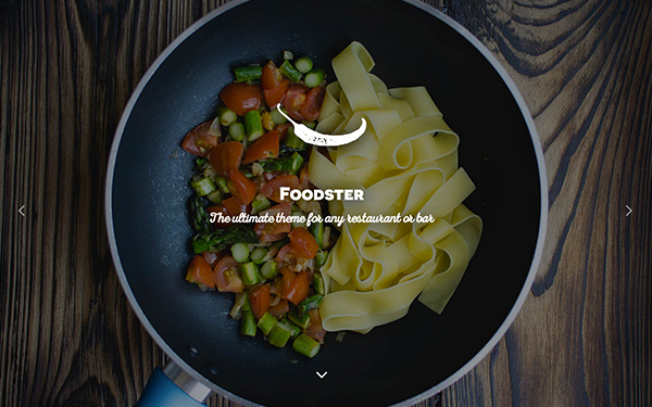 Foodster - Restaurant & Bar Theme - Live Preview - WrapBootstrap