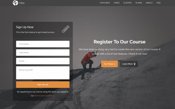 contact form bootstrap themes