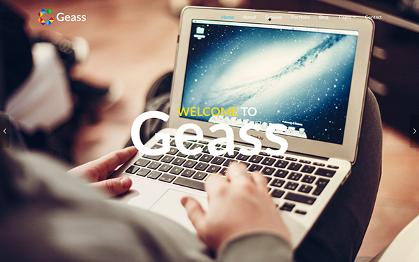 Geass - Creative Onepage Template