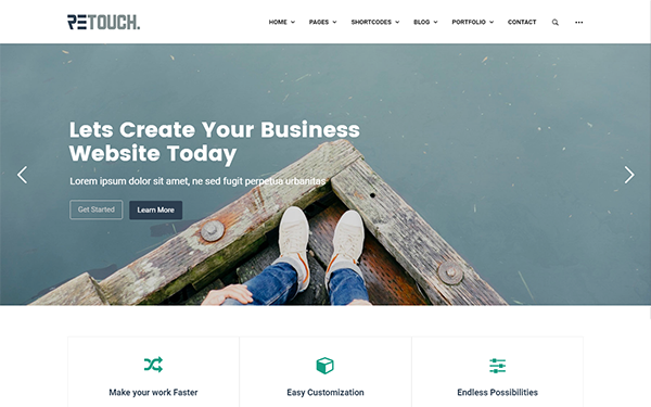 ReTouch - Multi-Purpose WordPress Theme