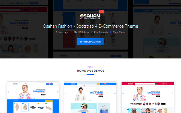 DOWNLOAD - Osahan Fashion - Bootstrap 4 Template
