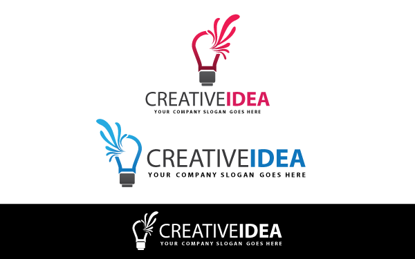 Creative Idea V.2 Logo Template