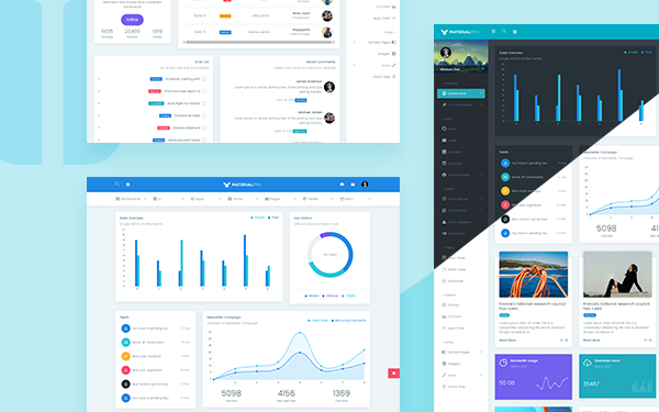 materialpro bootstrap material dashboard bootstrap admin templates wrapbootstrap. Black Bedroom Furniture Sets. Home Design Ideas