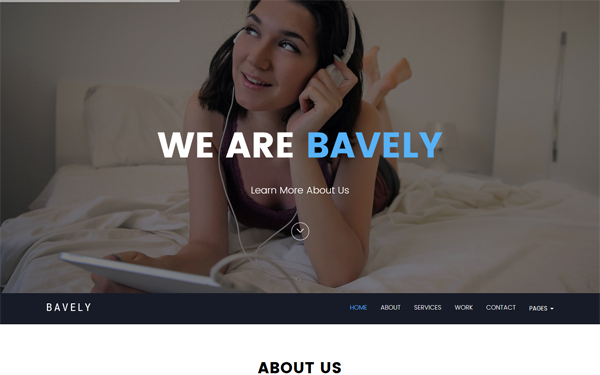 DOWNLOAD - Bavely - Agency & Portfolio Template