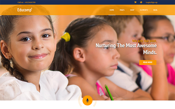 EduComp - Responsive Education Template - Live Preview - WrapBootstrap