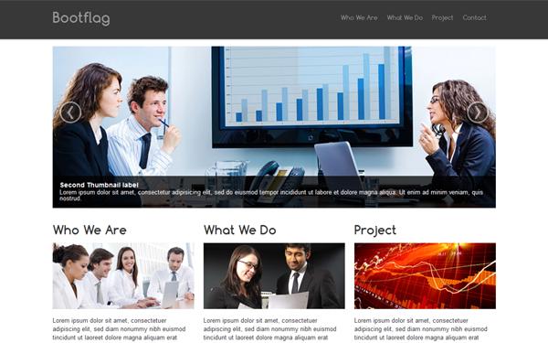Bootflag   Company Profile  Professional Business Profile Template