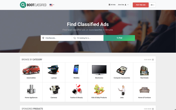 Download bootclassified classified theme website templates download bootclassified classified theme pronofoot35fo Gallery