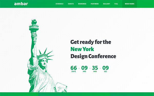 Ambar - 7 in 1 Multipurpose Landing Pages