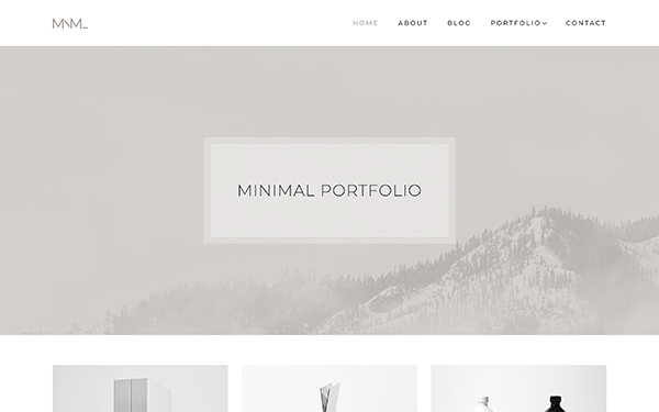 [DOWNLOAD] - MNML - Minimal Portfolio Theme