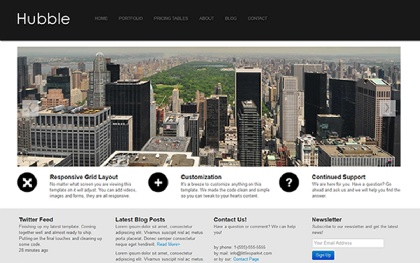 Hubble Business Theme