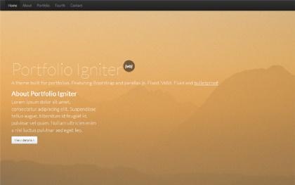 Portfolio Igniter - Portfolio Theme