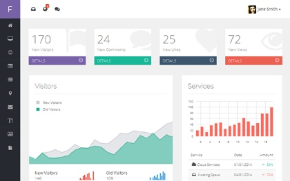 Flat Dream - Responsive Admin Template