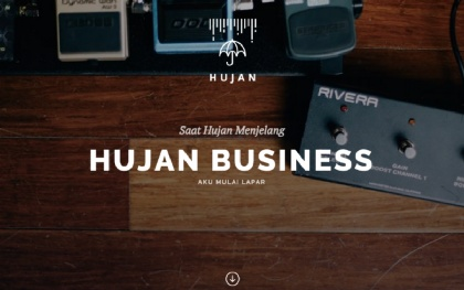 HUJAN - Multipurpose Template
