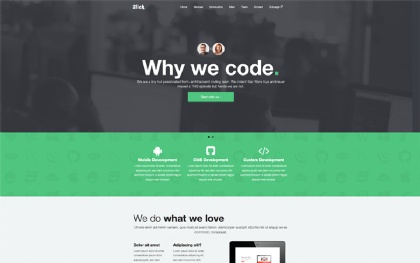 SLICK - One Page Theme