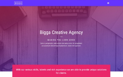 Bigga - Creative Template