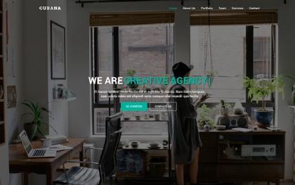 Cubana - One Page Multipurpose Template